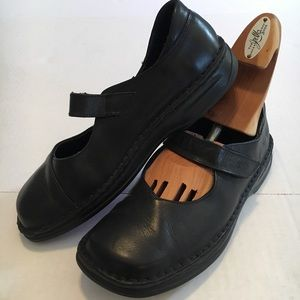 Josef Seibel Mary Jane Leather Shoes 39 Fits US 8